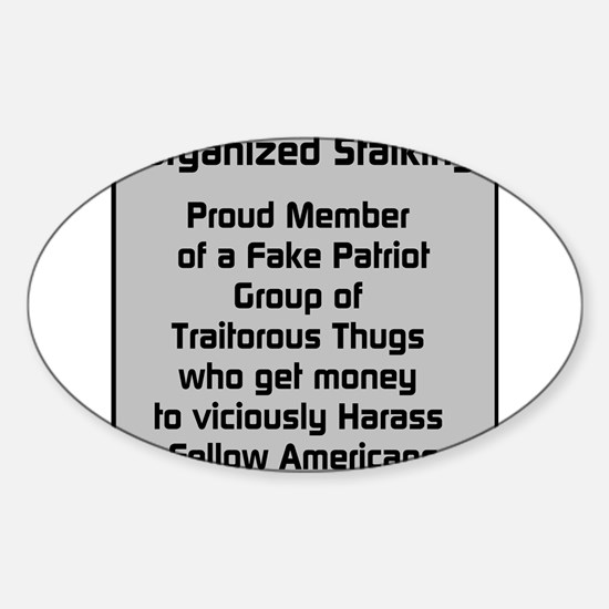 Fake Patriot Group Decal