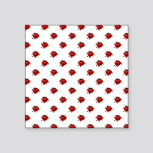 RED HEART CUP Sticker