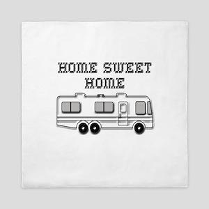 Home Sweet Home Motorhome Queen Duvet
