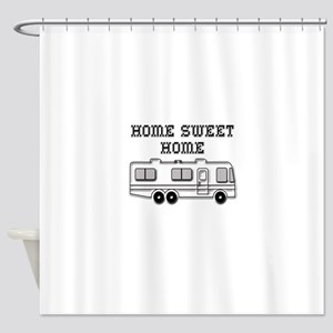 Home Sweet Home Motorhome Shower Curtain