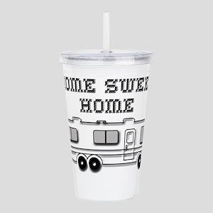 Home Sweet Home Motorh Acrylic Double-wall Tumbler