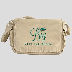 Zeta Tau Alpha Big Messenger Bag