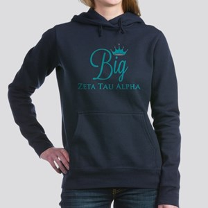 Zeta Tau Alpha Big Women's Hooded Sweatshirt