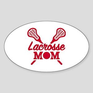 Lacrosse mom Sticker