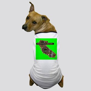 CALIFORNIA RIG UP CAMO Dog T-Shirt