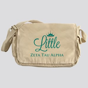 Zeta Tau Alpha Little Messenger Bag