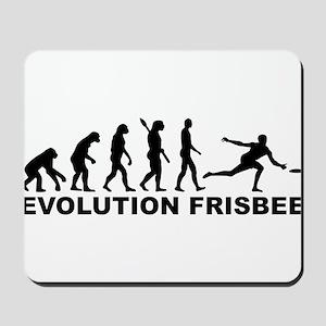 Evolution Frisbee Mousepad