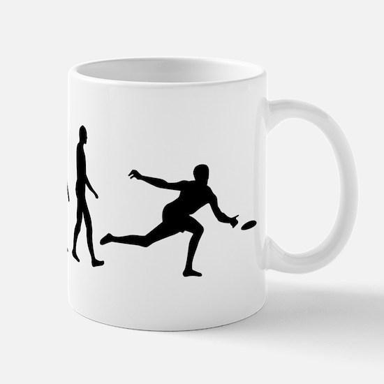 Evolution Frisbee Mugs