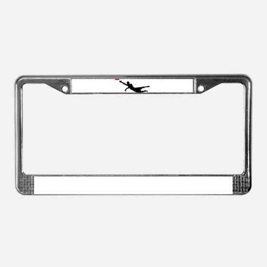 Disc golf frisbee License Plate Frame
