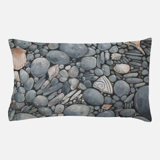 Beach Stones Pebbles Rocks Pillow Case