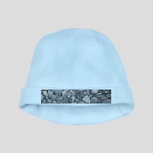 Beach Stones Pebbles Rocks baby hat