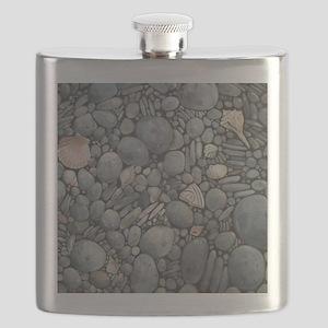 Beach Stones Pebbles Rocks Flask