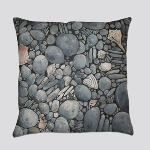 Beach Stones Pebbles Rocks Everyday Pillow