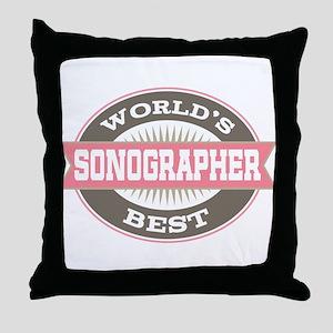 sonographer Throw Pillow