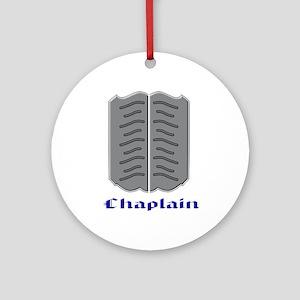 Chaplain Round Ornament