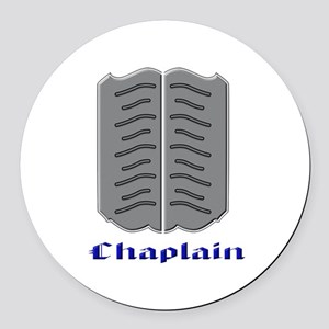 Chaplain Round Car Magnet