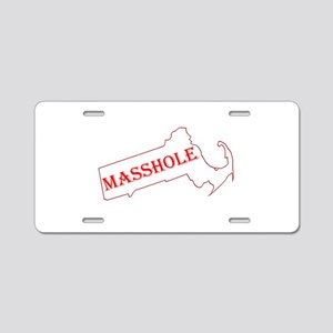 Masshole Aluminum License Plate