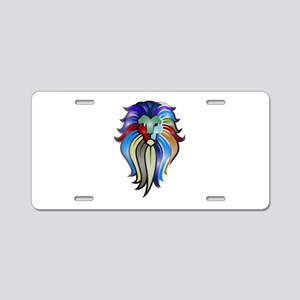 KING Aluminum License Plate