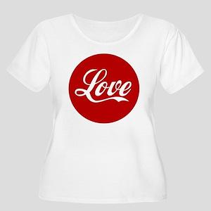 Love Plus Size T-Shirt