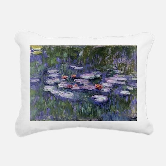 Funny Water lilies Rectangular Canvas Pillow