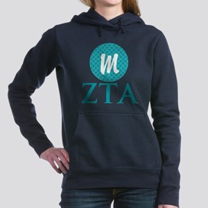 Zeta Tau Alpha Monogram Women's Hooded Sweatsh