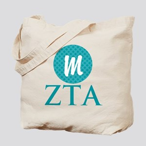 Zeta Tau Alpha Monogram Tote Bag