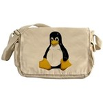 Tux the Penguin Messenger Bag