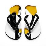 Tux the Penguin Flip Flops