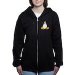 Tux the Penguin Women's Zip Hoodie