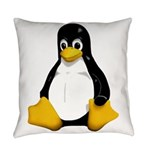 Tux the Penguin Everyday Pillow