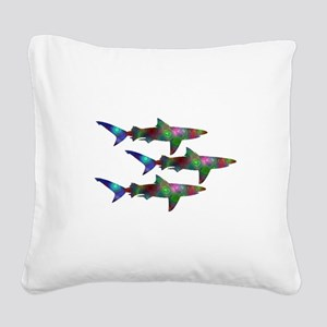 SCHOOL Square Canvas Pillow