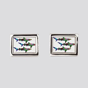 SCHOOL Rectangular Cufflinks