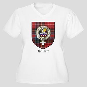 StewartTartan Plus Size T-Shirt