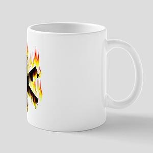 Asterisk (Flames) Mugs