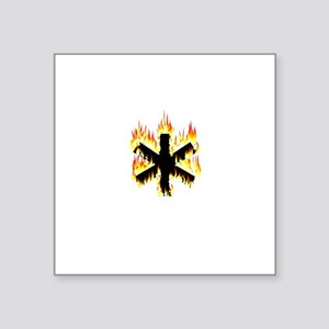 Asterisk (Flames) Sticker