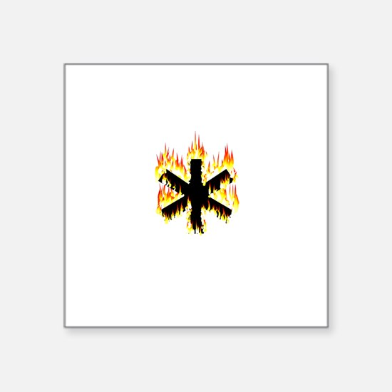 Asterisk (Flames) Sticker