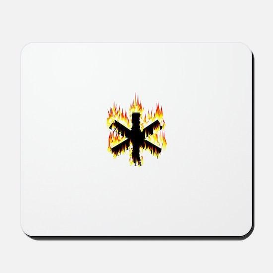 Asterisk (Flames) Mousepad