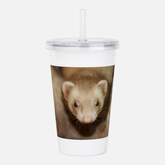 Ghost in the Bed Acrylic Double-wall Tumbler