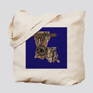 LOUISIANA RIG UP CAMO Tote Bag