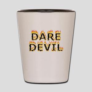 Daredevil (Flames) Shot Glass