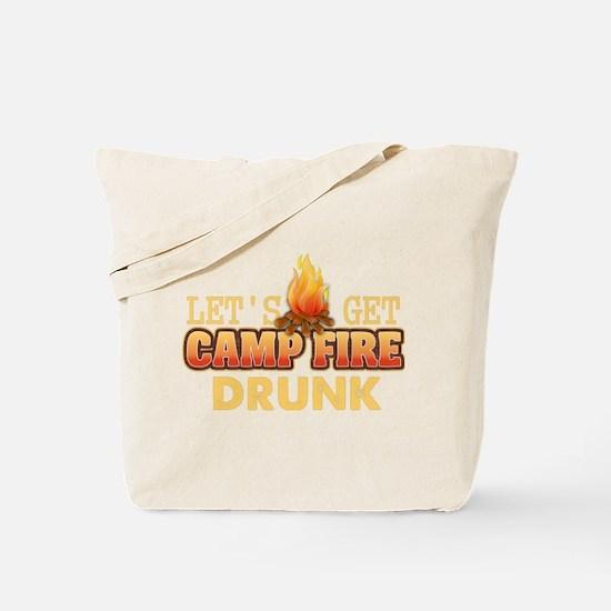 Funny Campfire Saying Tote Bag