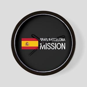 Spain, Barcelona Mission (Moroni) Wall Clock