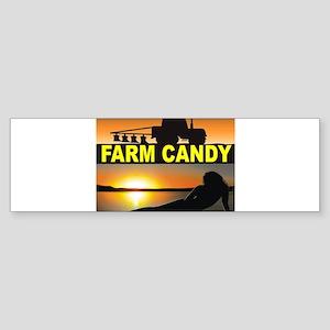FARM CANDY Bumper Sticker