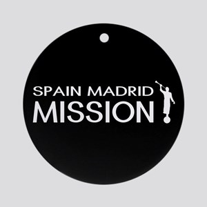 Spain, Madrid Mission (Moroni) Round Ornament
