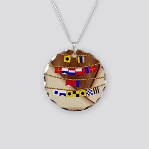 Harvest Moons Id Rather Be Sailing Necklace