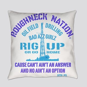 RIG UP BAD AZZ GIRLZ Everyday Pillow