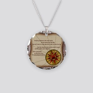 Harvest Moons Compass Rose Necklace