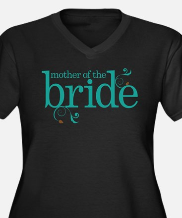 Mother of the Bride Swirl Plus Size T-Shirt