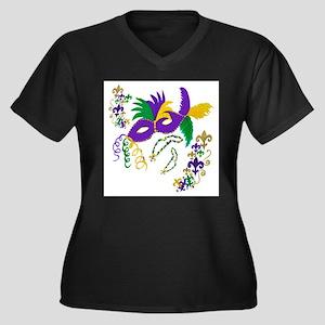 Mardi Gras Ma Plus Size T-Shirt
