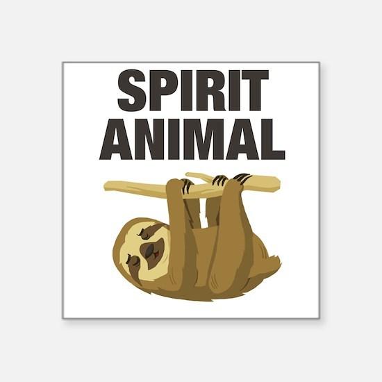 Sloth is my Spirit Animal Sticker
